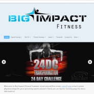 Big Impact Fitness Website