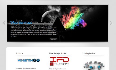 Kinetik Technical Services Website